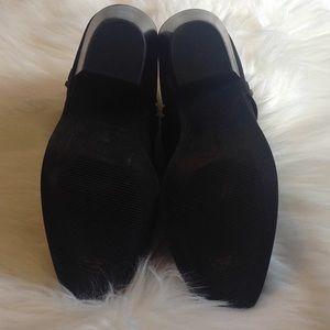 Banana Republic Shoes - NWOT Banana Republic black suede booties